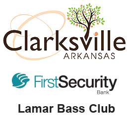 Tournament Sponsors: Clarksville Arkansas, First Security Bank, and Lamar Bass Club.
